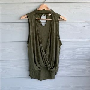 Urban Outfitters open front tank | size S